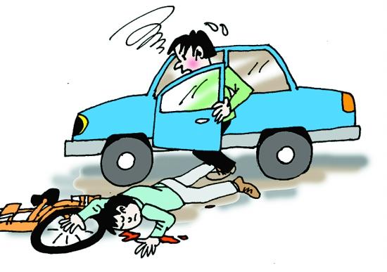 开车门撞死骑车人