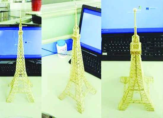 做埃菲尔铁塔模型