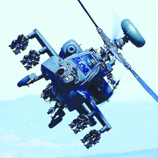 """""""阿帕奇""""直升机"""