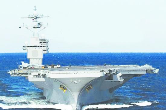 美国海军福特级cvn-79号航母方案设想图