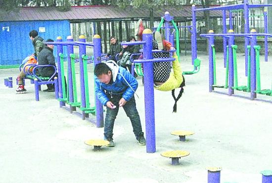 儿童锻炼的健身器材外