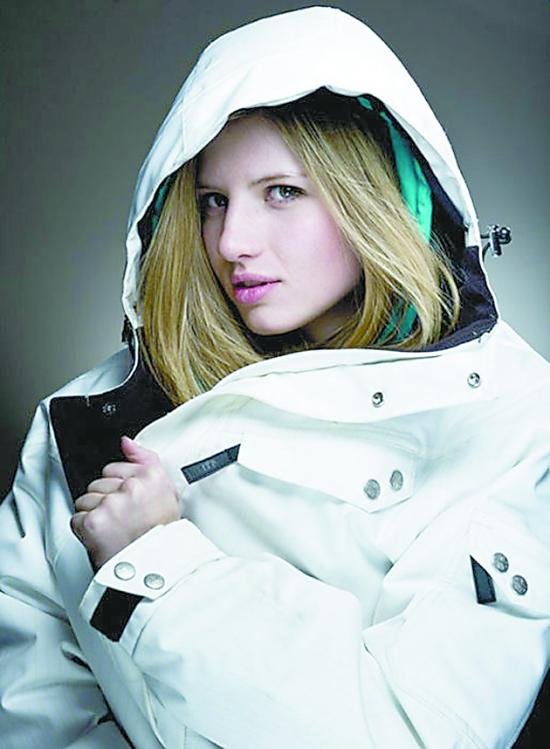 美国滑雪美女运动员