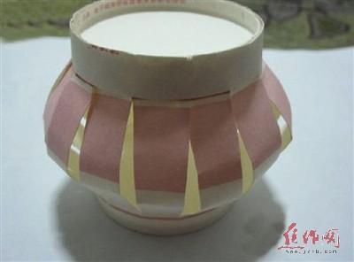 手工制作杯子灯笼步骤