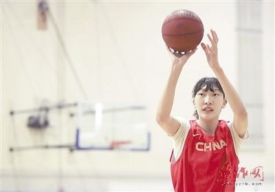 国手韩旭将参加WNBA选秀