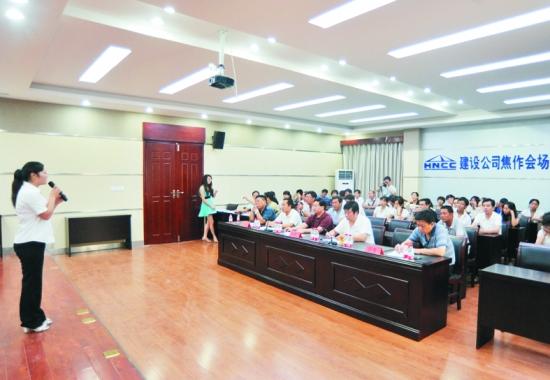 河南煤化建设集团宏程公司 建筑施工安全宣传月 活动走笔