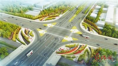 焦作市人民路(普济路-大沙河)绿道景观设计