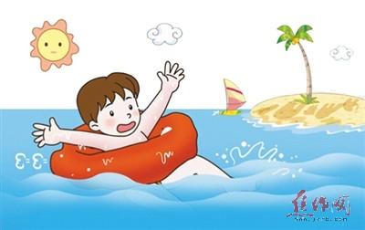 游泳校招新海报