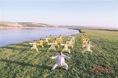 焦作黄河滩风景区